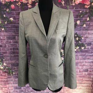 Giorgio Armani Wool Silk Stretch Gray Blazer 8